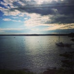Photo taken at Spruce Point Inn Resort and Spa by Rachel S. on 6/22/2014