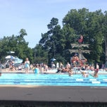 Photo taken at Woodland Aquatic Center by Stephanie M. on 6/14/2014
