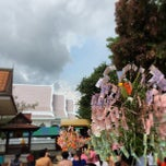 Photo taken at วัดสว่างอารมณ์ by Tepong S. on 4/15/2014
