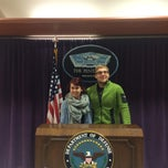 Photo taken at The Pentagon by Monika B. on 4/9/2015