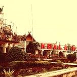 Photo taken at Bundaran Kuala Kapuas by Wongso W. on 5/10/2014