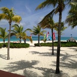 Photo taken at Club Med private beach by Dwayne W. on 8/29/2013