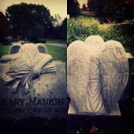 Photo taken at Rugby Cemetery by Evie W. on 10/19/2013