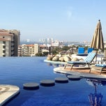 Photo taken at Selva Romantica infinity pool by Natalie S. on 3/2/2013
