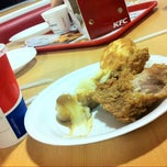 Photo taken at KFC by Marcela E. on 7/25/2014