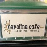 Photo taken at Carolina Cafe by Ryal C. on 4/12/2013