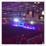 Photo taken at Kansas Star Arena by Garrett Y. on 9/25/2014