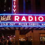 Photo taken at Radio City Music Hall by Nikelii B. on 3/8/2013