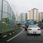Photo taken at Plaza Tol Subang by Bard A. on 12/1/2012