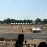 Photo taken at Stadium mini Kg Raja by Nur H. on 4/19/2014