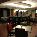 Photo taken at Hampton Inn Norfolk NE by Diana L. on 2/18/2013
