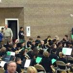 Photo taken at Del Webb Middle School by Rachel H. on 12/9/2014