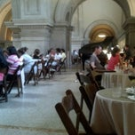 Photo taken at The Great Hall Balcony Bar at The Metropolitan Museum of Art by Lawrence F. on 7/7/2012