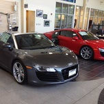Photo taken at Schaumburg Audi by Clint S. on 5/23/2012