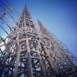 Photo taken at Watts Towers by Ronda B. on 9/1/2012