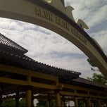 Photo taken at Alun-Alun Kota Serang by Kipuy C. on 3/6/2012