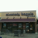 Photo taken at Einstein Bros Bagels by AsianPotato on 12/4/2012