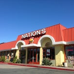 Photo taken at Nation's Giant Hamburgers by Miguel J. on 6/16/2013