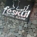 Photo taken at Feskul (Festival Kuliner) by Erika I. on 12/17/2014