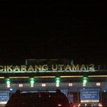 Photo taken at Gerbang Tol Cikarang Utama by Paskalis M. on 12/2/2012