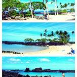 Photo taken at Kukio Beach @ Four Seasons by Suzana A. on 12/14/2014