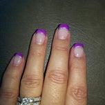 Photo taken at Cuticles Nail Salon by Kelly E. on 11/21/2013