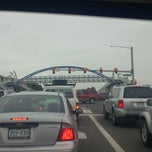 Photo taken at Wadsworth Pedestrian Bridge by Leroy S. on 6/5/2013