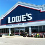 Photo taken at Lowe's Home Improvement by Frank M. on 10/31/2012