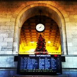 Photo taken at New Haven Union Station by Peter M. on 1/3/2013