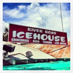 Photo taken at River Road Icehouse by Scott P. on 7/4/2013