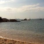 Photo taken at Hotel Pitrizza, Costa Smeralda by Massimiliano L. on 8/3/2014