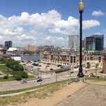 Photo taken at Federal Hill by John M. on 5/9/2015