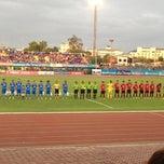 Photo taken at สนามกีฬาจังหวัดพระนครศรีอยุธยา by ttop t. on 7/26/2013
