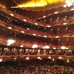 Photo taken at The Metropolitan Opera by Beate G. on 10/4/2012