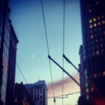 Photo taken at MUNI Bus Stop - Second & Market by Stephannie D. on 10/9/2013