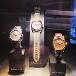 Photo taken at Officine Panerai Boutique NYC by Matthew K. on 5/6/2014