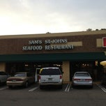 Photo taken at Sams St. Johns Seafood. by Kelly E. on 3/19/2013