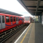 Photo taken at Limehouse DLR Station by Martin C. on 5/11/2013