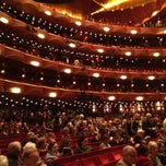 Photo taken at The Metropolitan Opera by Edouard V. on 10/18/2012