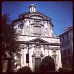 Photo taken at Sede Centrale Banca Intesa Sanpaolo by Maurizio F. on 5/28/2014