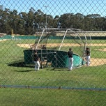 Photo taken at SLO Stadium at Sinsheimer Park by Shawn N. on 4/17/2013