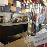 Photo taken at Coffee Square Providencia by Eduardo P. on 11/16/2012