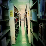 Photo taken at สำนักหอสมุด (Library) by ZAACCANDID on 4/8/2012