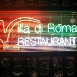 Photo taken at Villa Di Roma by Mutton J. on 4/14/2013