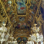 Photo taken at Opéra Garnier by Loïc L. on 2/17/2013