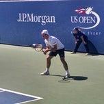 Photo taken at Court 5 - USTA Billie Jean King National Tennis Center by Derek H. on 8/29/2014
