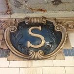 Photo taken at MTA Subway - Spring St (6) by Elaine M. on 2/22/2013