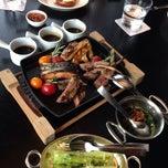 Photo taken at G   烧烤餐厅 by Jessica L. on 9/21/2014