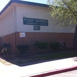 Photo taken at Pony Express Elementary School by Andrew on 4/10/2013