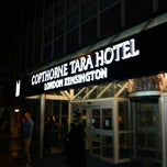 Photo taken at Copthorne Tara Hotel London Kensington by Kimihiko K. on 10/19/2012